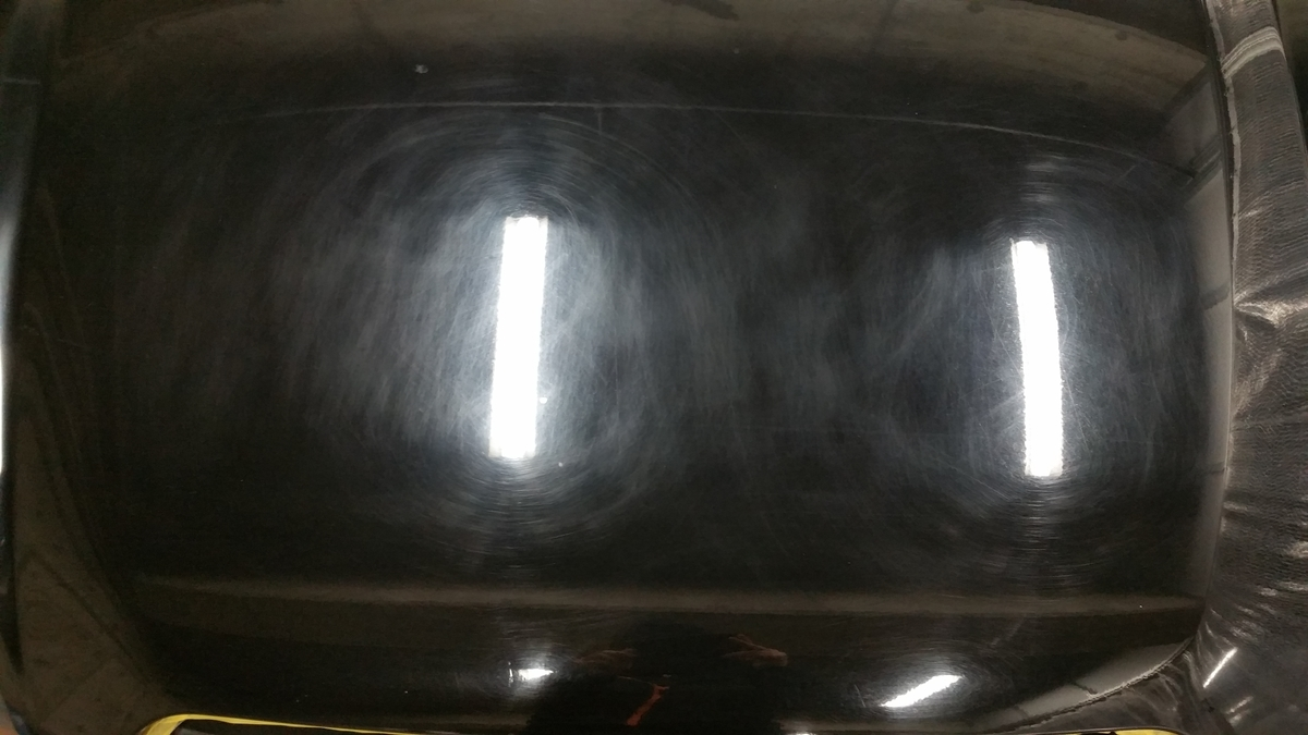 スバル/レガシィ 研磨+フッ素樹脂結合型コーティング+硬化系オーバーコーティング 札幌