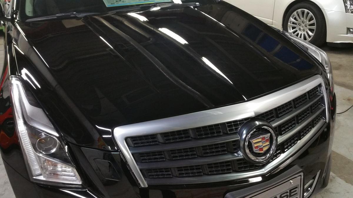 キャデラック/ATS luxury 磨き+フッ素樹脂結合型ボディコーティング札幌