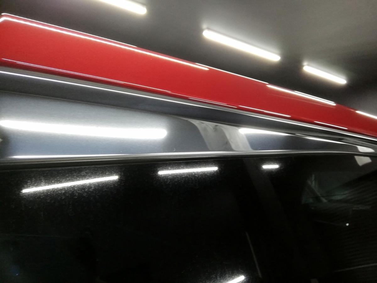ランドローバー/レンジローバー ヴォーグ ボディ・メッキモール研磨+樹脂硬化型コーティング【Ω /OMEGA】札幌5