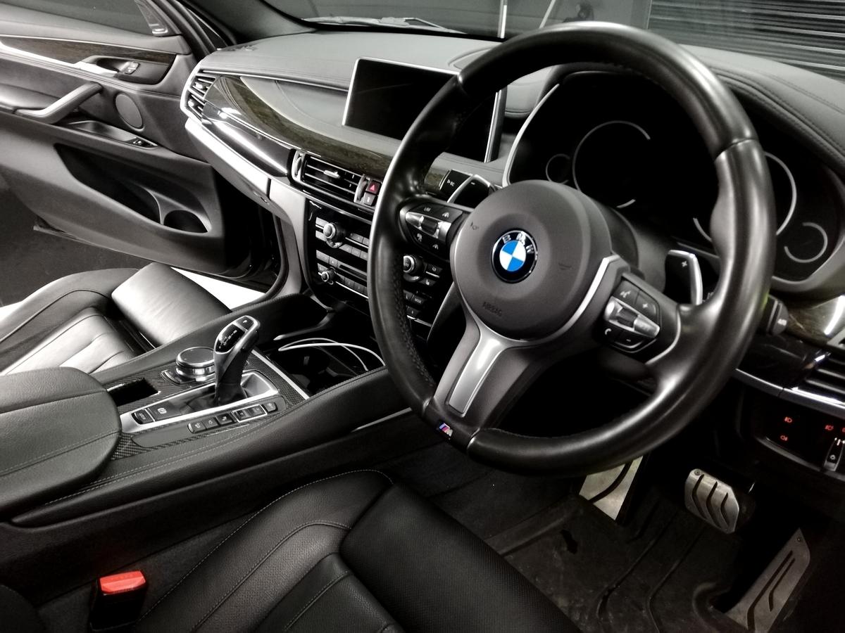 BMW/X6 ボディ研磨+樹脂硬化型コーティング【Ω /OMEGA】車内クリーニング+レザー保湿トリートメント札幌6