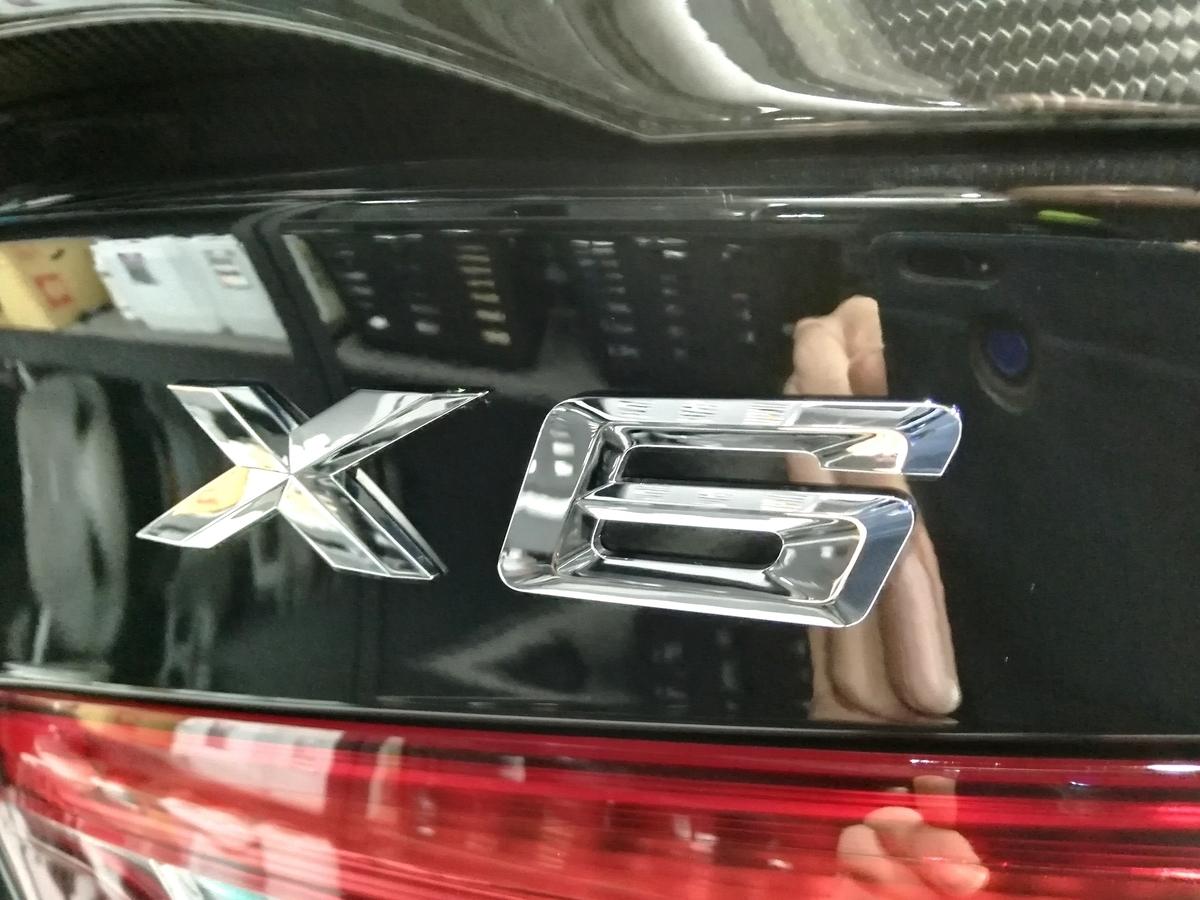 BMW/X6 ボディ研磨+樹脂硬化型コーティング【Ω /OMEGA】車内クリーニング+レザー保湿トリートメント札幌5