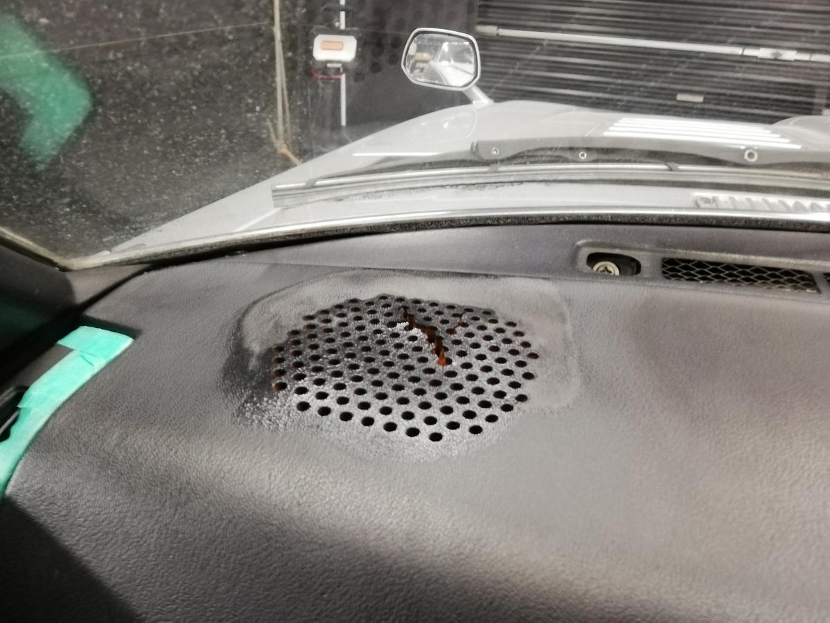 日産/S130型フェアレディ280Z-T Tバールーフ マンハッタンカラー ダッシュボード ひび割れ補修 札幌3