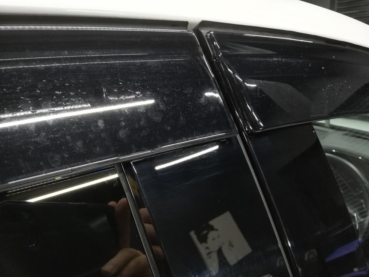 マツダ/CX-5樹脂硬化型コーティング【Ω/OMEGA】定期メンテナンス+低摩擦コーティング【μ /MYU】+ミラー撥水コーティング 札幌ウロコ取り4