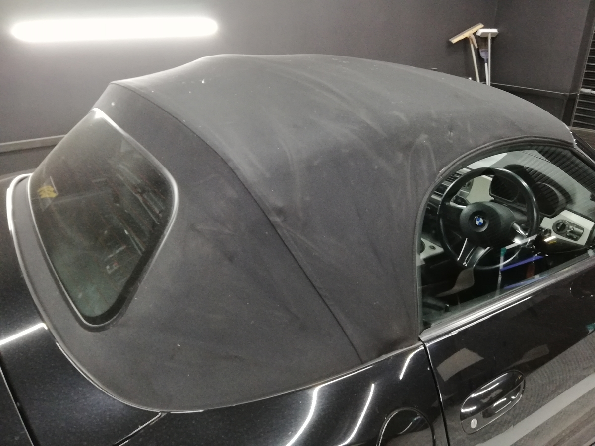 BMW/Z4ロードスター 幌撥水防汚コーティング各種オープンカー(コンバーチブル、カブリオレ、ロードスター、スパイダー)ソフトトップ仕様に対応 札幌