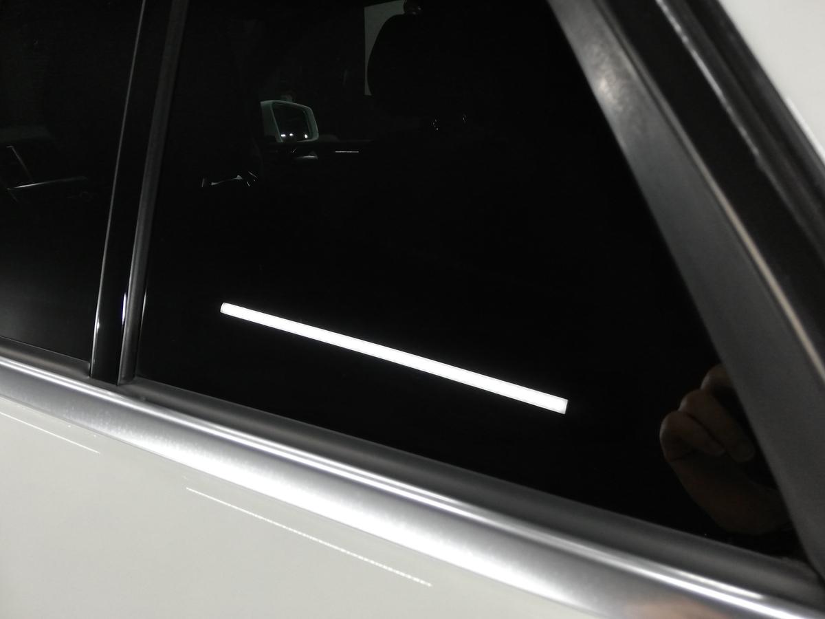 メルセデス・ベンツ/ML350 BlueTECH W166 ボディ研磨+樹脂硬化型コーティング【Ω/OMEGA】+ウィンドウウロコ取り・アルミモール・未塗装樹脂パーツ各コーティング札幌5