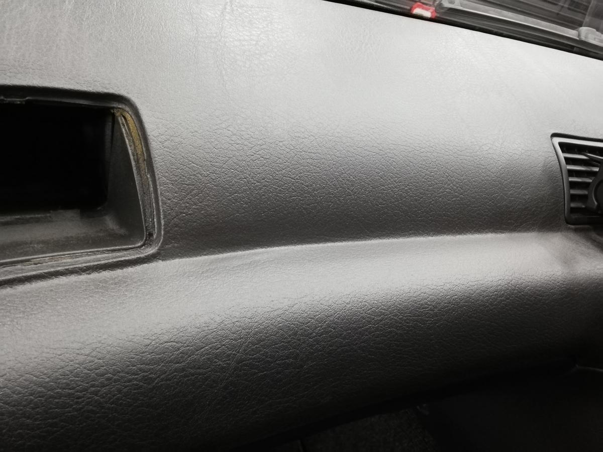 日産/GT-R BNR32 ダッシュボード表皮浮き剥がれ・センターコンソール傷+革シート擦れ+ドア内張傷の補修札幌1