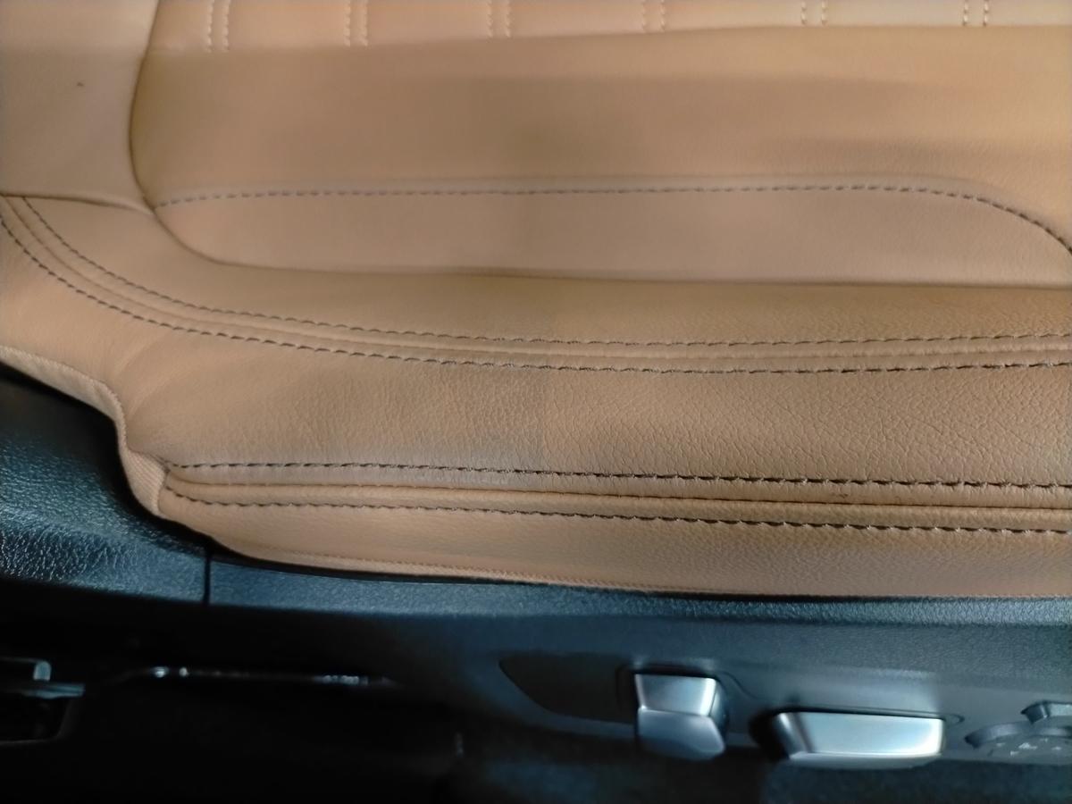 BMW/X3 M40d ボディ研磨+樹脂硬化型コーティング【Ω /OMEGA】  +ヘッドライトコーティング・ウインドウウロコ取りコーティング+ホイールコーティング+本革レザー保湿トリートメント札幌10