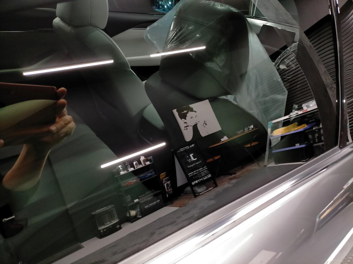 マツダ/アテンザセダン ボディ磨き+樹脂硬化型コーティング【Ω/OMEGA】+ウインドウウロコ取り撥水加工札幌北広島6