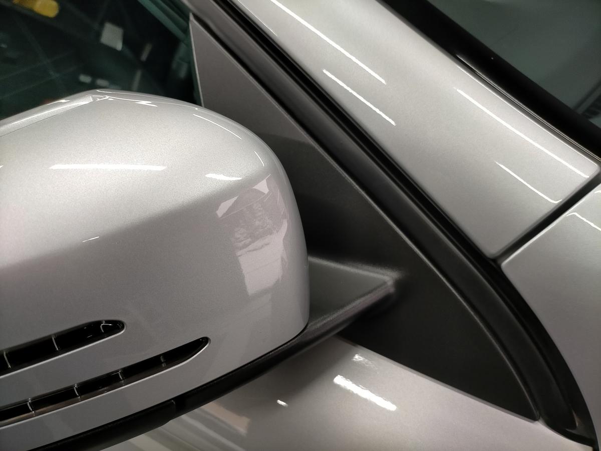 GL250 4マティックオフロード X156 ボディ磨き+樹脂硬化型コーティング【Ω/OMEGA】+アルミモール・ヘッドライト・ホイール・未塗装樹脂パーツコーティング札幌北広島エニカ11