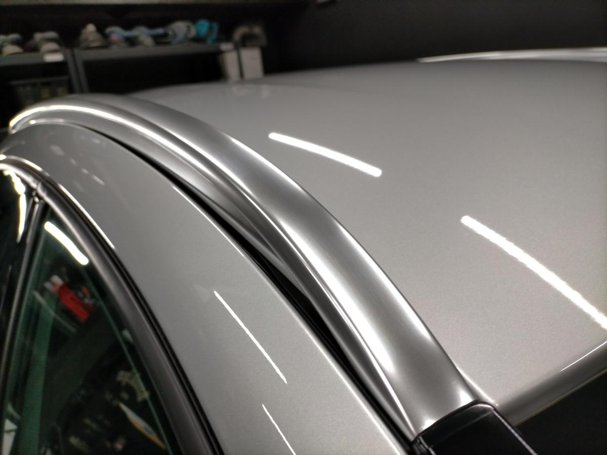 GL250 4マティックオフロード X156 ボディ磨き+樹脂硬化型コーティング【Ω/OMEGA】+アルミモール・ヘッドライト・ホイール・未塗装樹脂パーツコーティング札幌北広島エニカ8