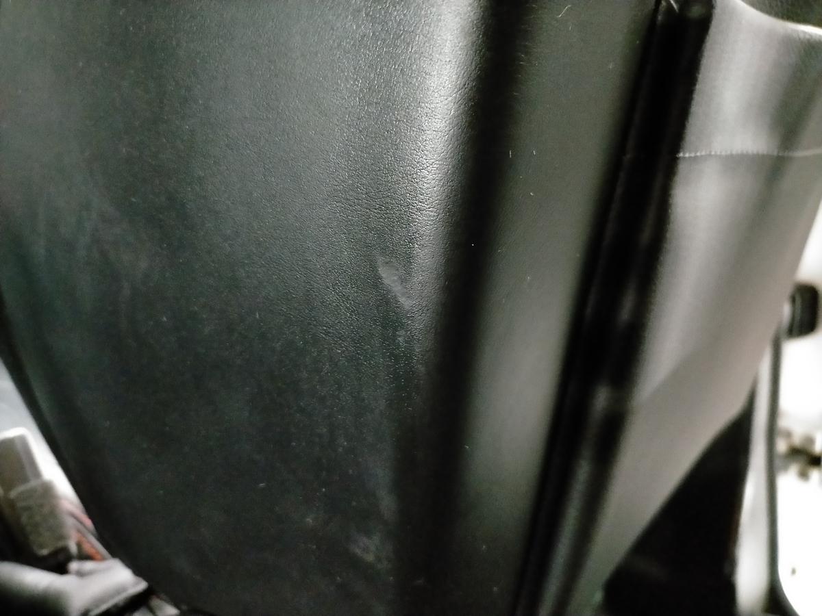 メルセデス・ベンツ/GクラスG350 ブルーテック エディションゼブラ designo本革シート劣化・擦れ・擦り傷の補修札幌北広島3