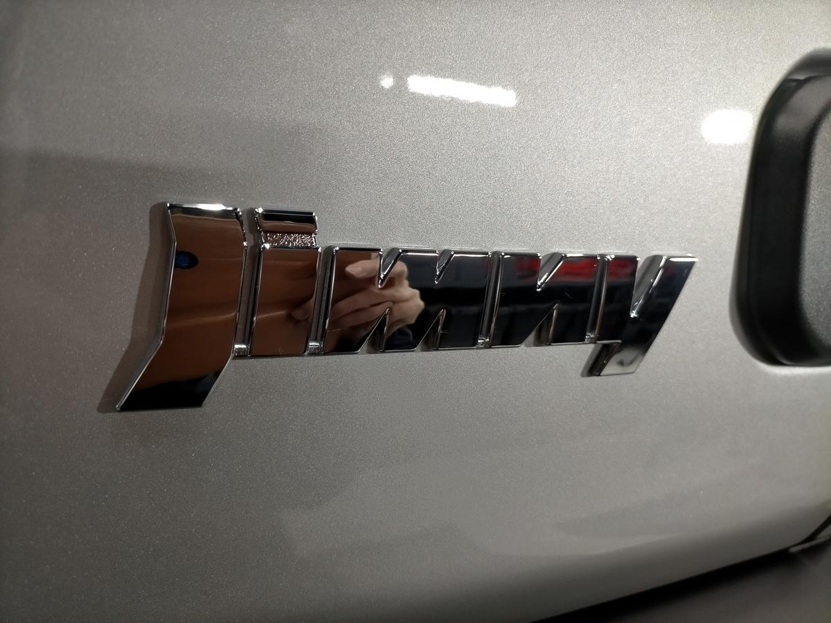 スズキ/ジムニーJB64 樹脂硬化型コーティング【Ω/OMEGA】新車施工札幌北広島6