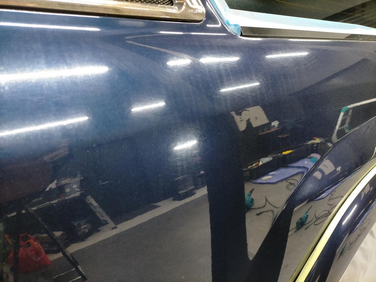 トヨタ/ ランドクルーザー シグナス ボディ磨き+フッ素樹脂結合系簡易コーティング【F/FLAM】札幌北広島8