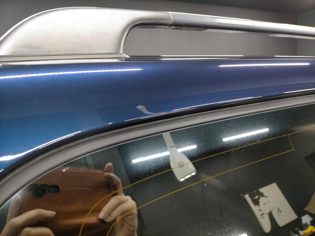 トヨタ/ ランドクルーザー シグナス ボディ磨き+フッ素樹脂結合系簡易コーティング【F/FLAM】札幌北広島11