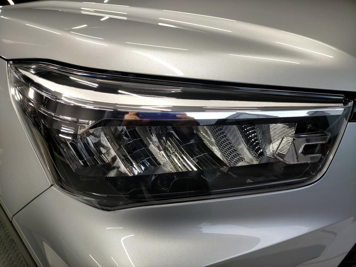トヨタ/RAIZE新車 樹脂硬化型コーティング【Ω/OMEGA】+ヘッドライト・ホイール・未塗装樹脂パーツコーティング+ウインドウ撥水加工札幌清田3
