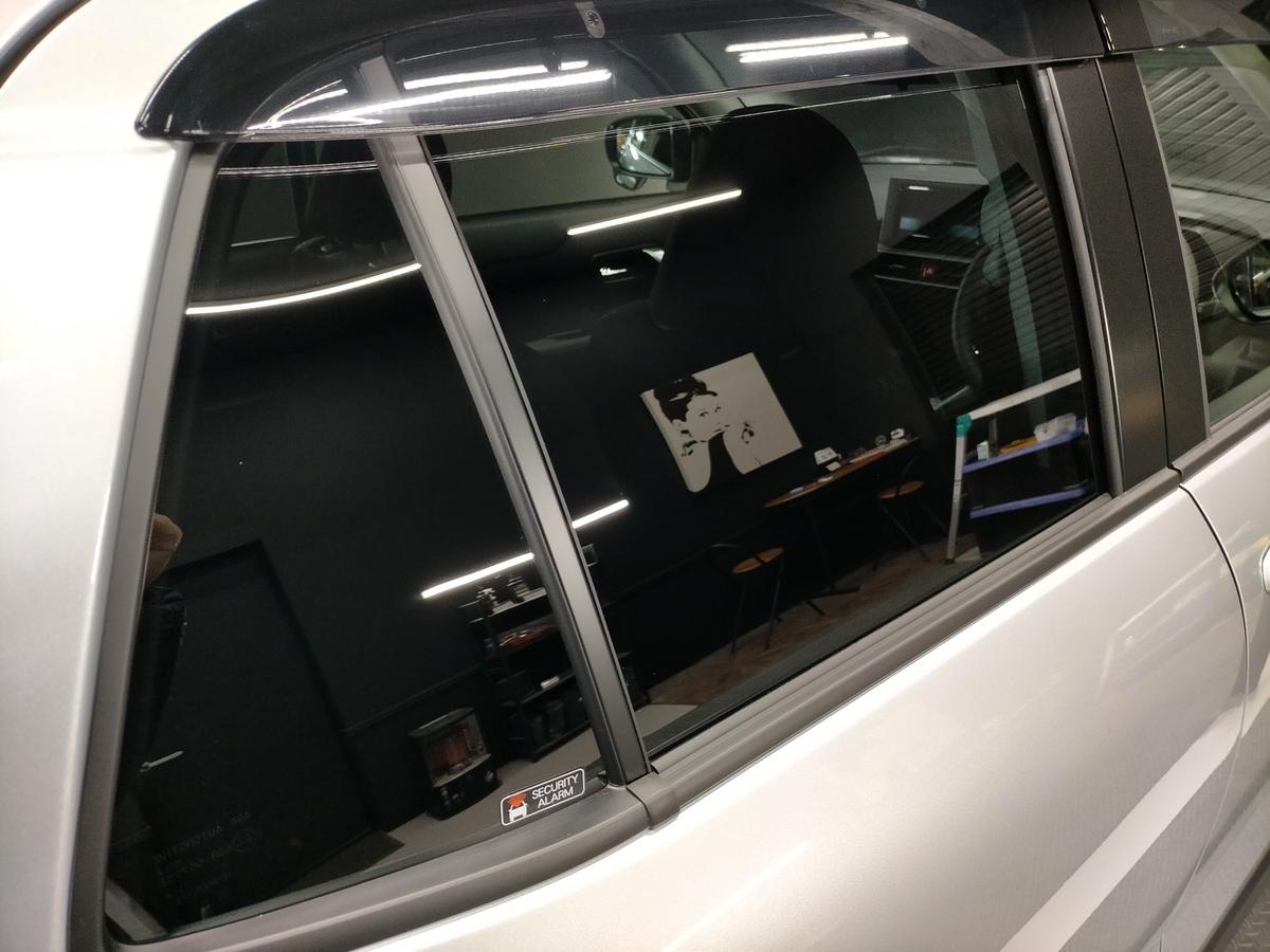 トヨタ/RAIZE新車 樹脂硬化型コーティング【Ω/OMEGA】+ヘッドライト・ホイール・未塗装樹脂パーツコーティング+ウインドウ撥水加工札幌清田8