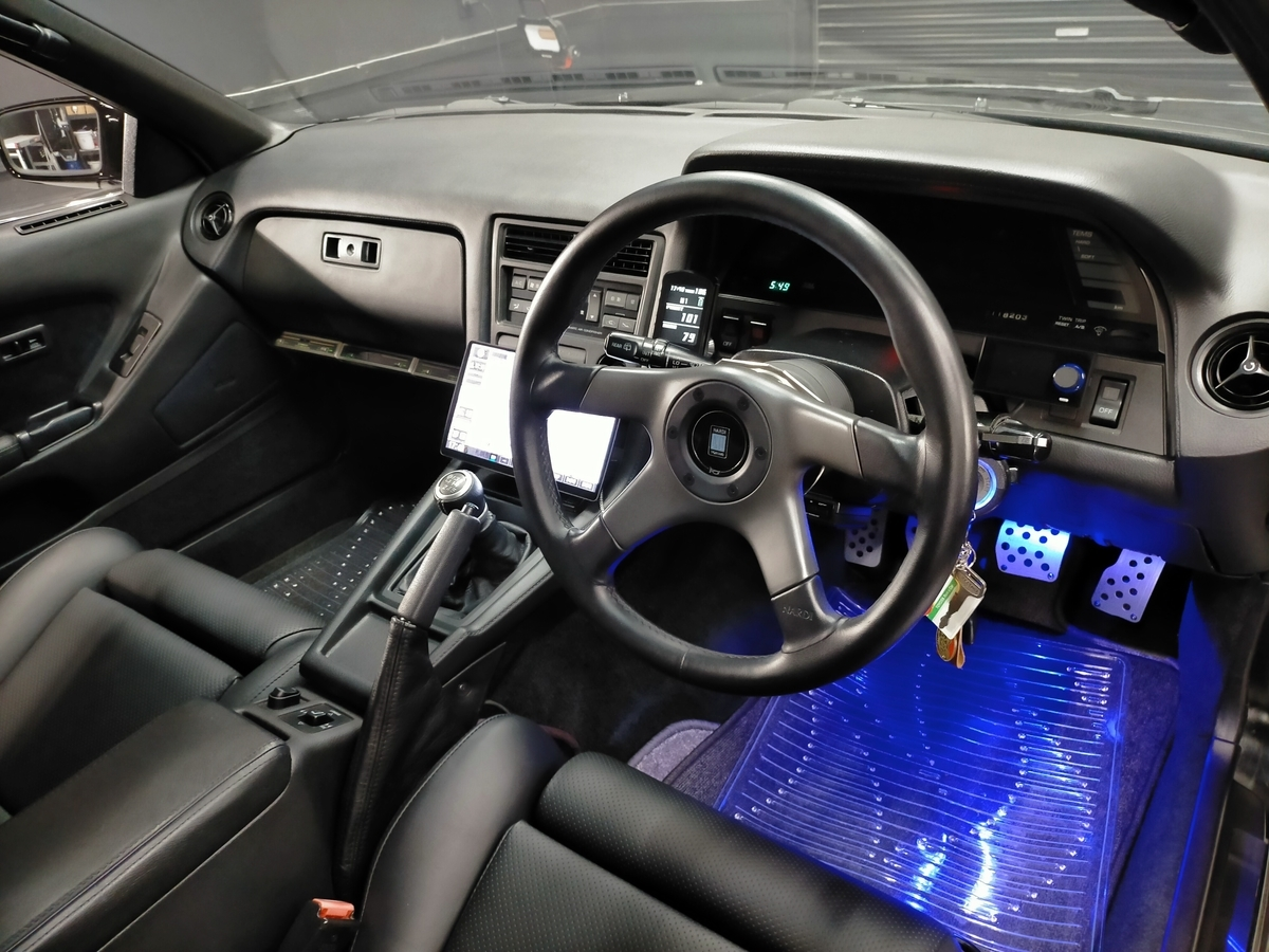 『憧れのハイソカー』トヨタ/ソアラ Z20型 2.0GT‐ツインターボL ダッシュボード・コンソール・内張り・ピラー・リアシート各種パーツのカラーチェンジ札幌清田4