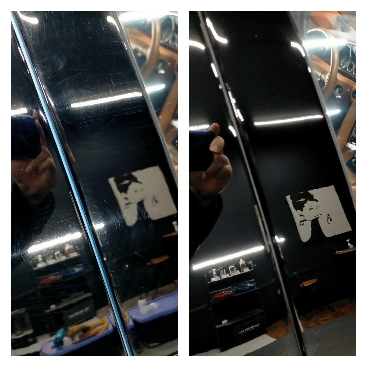 ベントレー/フライングスパーW12 ボディ磨き+樹脂硬化型コーティング【Ω /OMEGA】札幌清田4