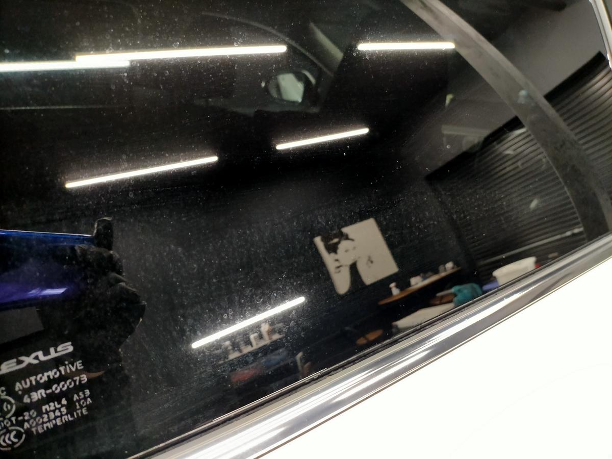 レクサス/RX450hL ボディ磨き+樹脂硬化型コーティング【Ω/OMEGA】+ウィンドウガラスウロコ取り撥水加工+ヘッドライトコーティング+ホイールコーティング+車内清掃+革レザークリーニング・保湿トリートメント札幌北広島3
