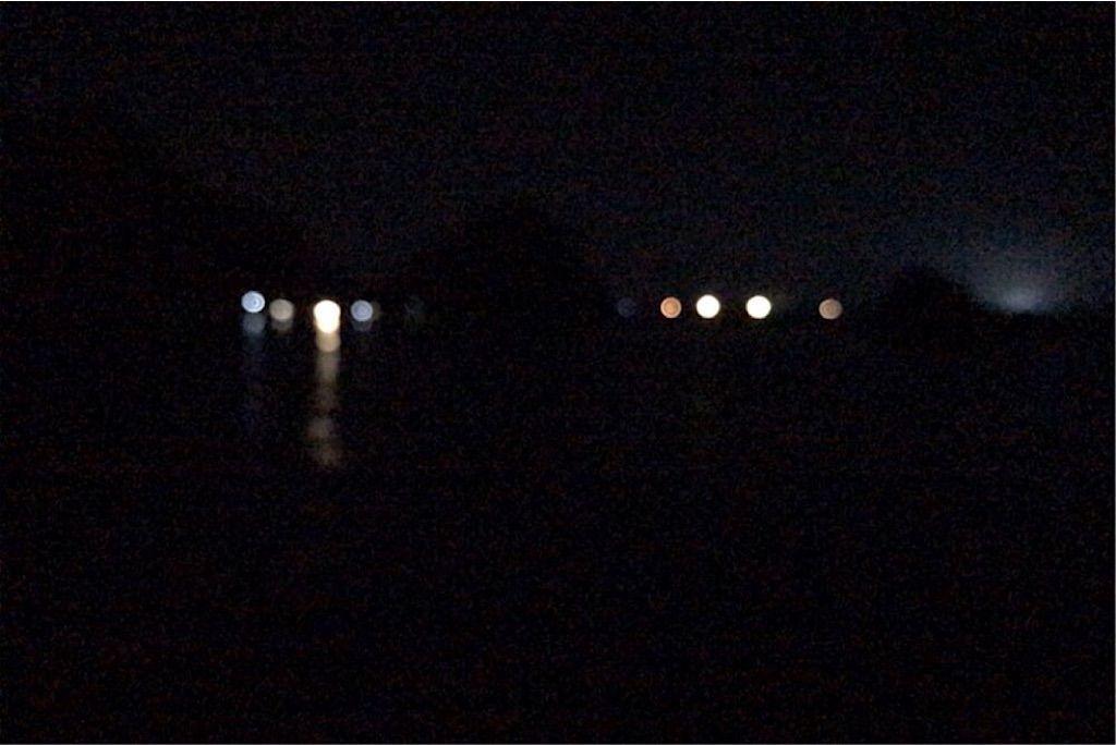 香住海岸 漁火
