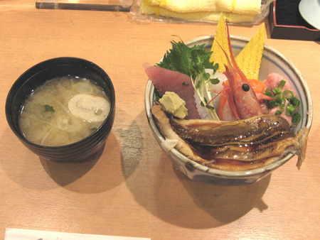 ランチ海鮮丼@三崎丸