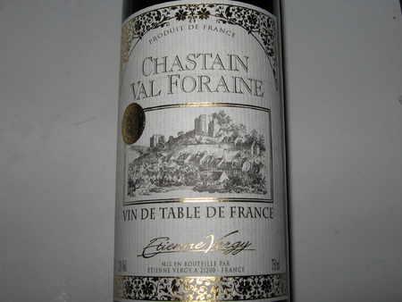 赤ワイン・フランス