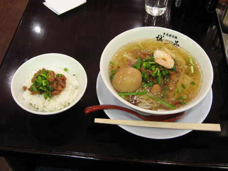 タンツー麺パーコー飯@誠品