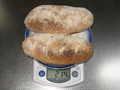[パン]強力粉100g全粒粉50g水90gイースト3g塩3gモルトパウダー3g