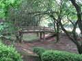 [片倉城址公園]本丸櫓台から見た橋