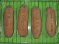 [パン]強力粉85gライ麦80g全粒粉60g水166g塩6gイースト4g