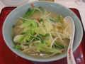 [ラーメン][くるまやラーメン]塩野菜