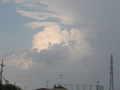 [夏][空][雲]夕立を降らせた雲