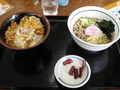 [山田うどん][蕎麦][丼]かき揚げ丼セット