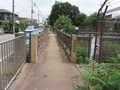 [玉川上水緑道]残堀川に架かる橋