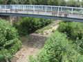 [玉川上水緑道]相変わらず水の無い残堀川