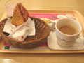 [モスバーガー]モスでチキンとコーヒー