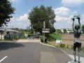 [下河原緑道]新田川緑道との合流地点