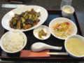 [華厨謝][☆☆]牛肉のピリ辛いためランチ