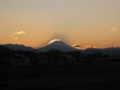 [富士山]シルエット