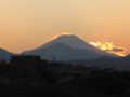 [富士山]夕暮れ富士