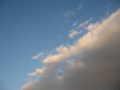 [空][雲]黒い雲と青い空