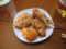 春巻き、ささみフライ、タラフライ、鶏のから揚げ