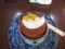 お酒の入ったケーキ