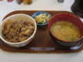 [牛丼][丼][すき家]牛1.5盛りとん汁セット@すき家