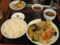 肉野菜炒め定食&2個餃子@南京亭