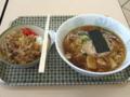 [カインズキッチン][ラーメン]醤油ラーメン+牛丼