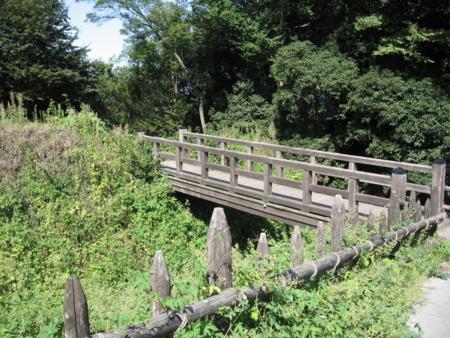 二の郭馬出しの橋