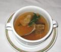 [フレンチ][☆]ハマグリと真鯛のスープ