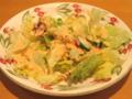 [サイゼリヤ]ハンバーグランチセットのサラダ
