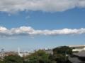 [秋][空][雲]台風一過